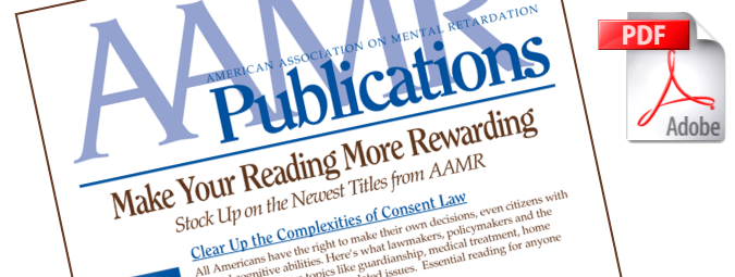 AAMR Publications